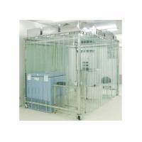 Buy cheap Movable Vertical Air Flow SoftWall Clean Room 304 Stainless Steel Cleanroom product