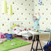 Buy cheap Best Selling Football Design Walllpaper Modern Chinese Manufacturer PVC Kids Room product