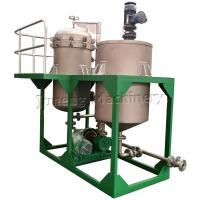 Buy cheap Compact Size Low Capacity Vertical Metal Leaf Filter Machine With Tank product