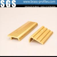 China Metal Stair Edge Nosing Sheet Copper Alloy Stair Strip for Floor Edge on sale