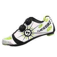 Fashionable Carbon Fiber Cycling Shoes / Light Weight Fast Speed Shoes