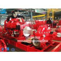 Buy cheap NFPA 20 Standard Diesel Engine Fire Fighting Pump Set with Horizontal Split Case Fire Pump product
