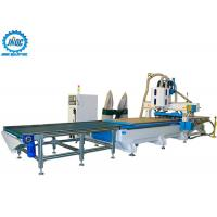 Buy cheap Loading Unloading CNC Machine Panel Furniture Production Line With Boring Head / Drilling product