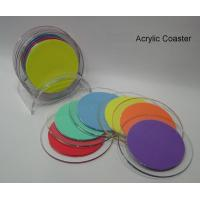 Buy cheap High Quality Beautiful Shape Acrylic Coasters product