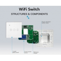 Buy cheap ZigBee Remote Control Smart Switch Panel Touch Support Voice Control product