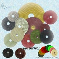 Buy cheap Wet Polishing Pads for Granite and Marble (Diamond Grits# 50 ~ Buff) product
