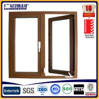Buy cheap Australia style hand swing glass aluminium window from wholesalers