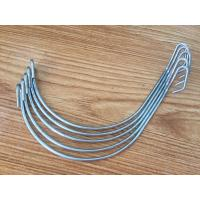 Buy cheap Hot Daip Galvanized Agricultural Anti Hail System Metal Fence Post Clips product