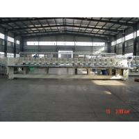 Professional 18 Heads Flat Embroidery Machine / Emb Machine For Business
