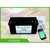 Buy cheap 12V200Ah Lithium RV Camper Battery 150A Discharge With High Inrush Current Capability product