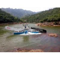 Buy cheap Stainless Steel 1500m3 Lake Weed Removal Machine 3m Length 55Kw product