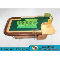 Buy cheap Customed Professional British Luxury Casino Roulette Table 2600 * 1470 * 800mm product