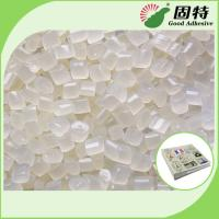 Buy cheap Light Yellow Granule EVA and Viscosity resin Side glue for Mainly used for papers fixation of round back album. product
