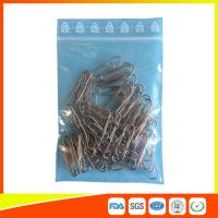 Buy cheap Zip Seal Plastic Packing Ziplock Bags Resealable With Symbol Ree Line On The Flap product
