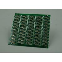 Buy cheap Double Sided Prototype PCB Fabrication Gold Plating Finish Green Solder product