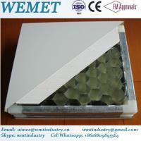 Buy cheap Aluminum honeycomb manual panel for clean room anti-fire A class product
