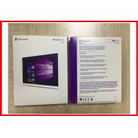 China Microsoft Office Windows 10 Pro Retail Box , OEM Windows 7 Pro 64 bit Retail on sale