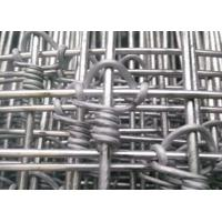 Buy cheap Farm Guard Cattle Wire Fence Zinc Coating With 0.8-2m Height , Rust Resistance product