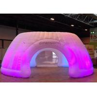 China Logo Printing Inflatable Tent With LED Light , Stretch Tent For Giant Event wholesale