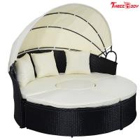 Buy cheap Round / Curved Outdoor Sofa , Comfortable Contemporary Outdoor Furniture Lounge Sofa product