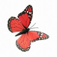 Buy cheap 3-D Flying Butterfly Fridge Magnet, Sticking and Moving Easily product