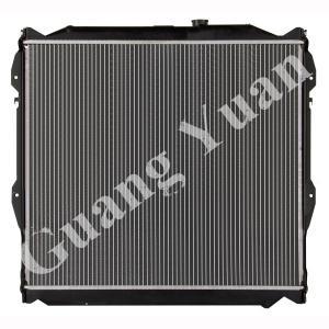 Quality 16400 75180 / 16400 75190 Toyota Aluminum Car Radiators For PRADO 95-98 VZJ95 AT DPI 1998 for sale