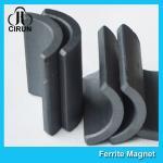 Y30 Grade Permanent Ferrite Arc Magnet For DC Motor Multipurpose Use