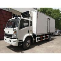 DFAC Small Refrigerated Van Truck Fast Food Cooling Van Body ISO 9001 Approved