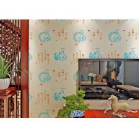 Buy cheap Chinese Style Vintage Inspired Wallpaper / Moisture Resistant Wallpaper High Grade product