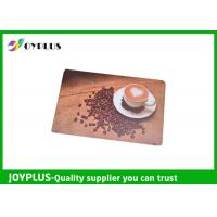 Buy cheap Customized Color / Size Restaurant Table Mats , Square Table Placemats PP Material product