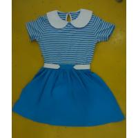 Buy cheap Blue Striped Children'S Cotton Pajamas Matching Brother Sister Clothes product