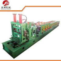 China 11 KW Steel Ceiling Channel Roll Forming Machine For Construction Purlin Making on sale