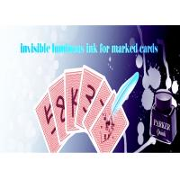 Buy cheap Latest Luminous Playing Cards Invisible Ink For Poker Cheat / Magic Show product