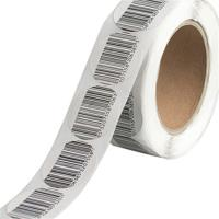 Buy cheap EAS Soft Security Tags For Retail Stores / Alarming System Direct Thermal Sew In Tag product