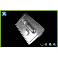 Buy cheap Custom Transparent Plastic Clamshell Packaging With Double PS Blister Card from wholesalers