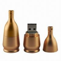 Buy cheap 50KB to 64GB Bootable USB Flash Drive with Metal body, Customized Logos Welcomed product
