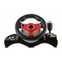Buy cheap Wired Connection Video Game Steering Wheel for P4 Big Size Shape With Vibration product