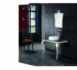 Buy cheap Luxury Single Sink Bath Vanity Cabinet M912 product