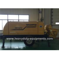 Buy cheap SHANTUI HBT6016 trailer pump adopted to achieve good concrete suction performance product