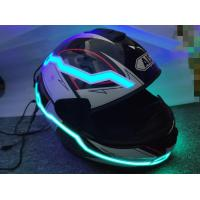 China 2019 new design custom  hot sale popular glow in the dark LED light up motorcycle helmet tape super cool look for motor on sale