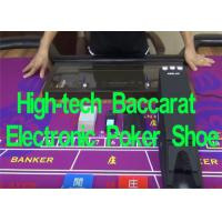 Buy cheap Baccarat Electronic Poker Shoe System Playing Card Dealer Shoe Automatic Card from wholesalers