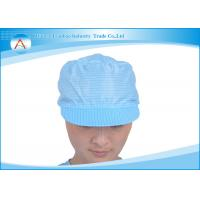 China Clean room Unisex Dust-proof Cap  Apparels Accessories in Workshop on sale