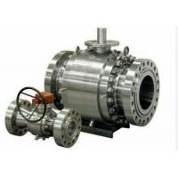 Buy cheap Forged Steel Cast Steel Ball Valve , Trunnion Mounted Ball Valve product