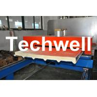 Buy cheap PU Insulated Cold Roll Forming Machine For Making Sandwich Panels product