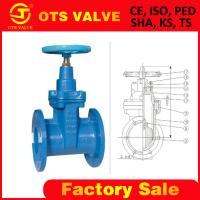 Buy cheap rising or non-rising stem gate valve casting iron product