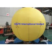 China Sealed Lock Air Type Party Inflatable Advertising Balloon 2 Meter With Logo Printing on sale