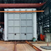 Buy cheap Recycling Type Shot Blasting Chamber , Industrial Blast Cabinet For Castings Surface Cleaning product