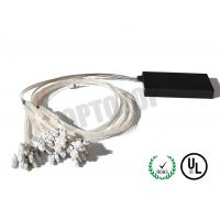 Buy cheap Single Mode Fiber Coupler 1XN LC Fbt Coupler Φ2 Length Customized Package D product