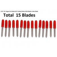 Buy cheap Standard Sign Making Tools , 45° Red 15pcs Roland GCC Cricut Cutting Plotter from wholesalers