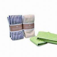 Buy cheap 4 Packs Microfiber Tea Towels, Suitable for Various Cars and House Cleaning, Soft/Comfortable from wholesalers